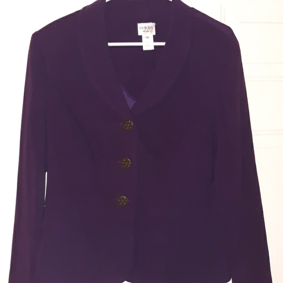 dorby Jackets & Blazers - Dorby Purple coat
